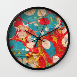 Abstract Painting ; Aurora Wall Clock