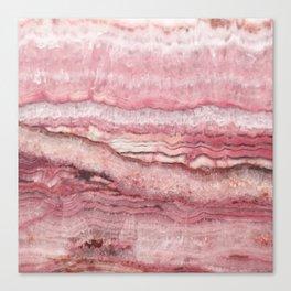Mystic Stone Blush Canvas Print