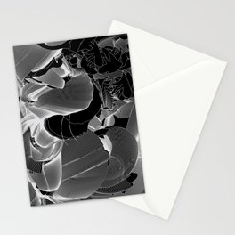 Metamorphosis Invert #1 Abstract Art Line Stationery Cards