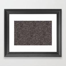 Spiral Pattern Framed Art Print