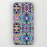 techno iPhone & iPod Skins featuring Techno Tribal  by Isabella Salamone