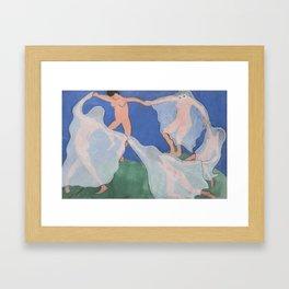 """""""The Ghost Dance"""" / Henri Matisse Framed Art Print"""