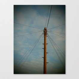 Lines and Lines and Lines Canvas Print