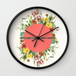 Organic Beauty_1 Wall Clock