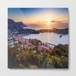 Mont Boron Sunrise Metal Print