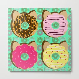 Dough Cats Metal Print