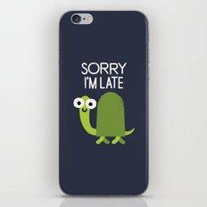 Tardy Animal iPhone Skin