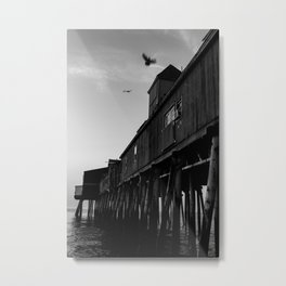 Flyover Pier Metal Print