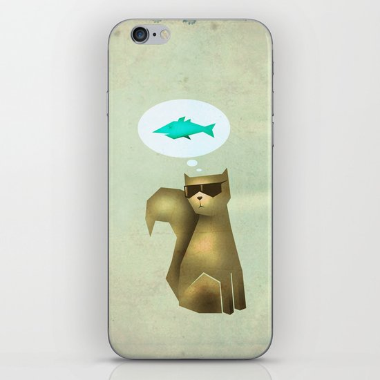 Fish and Chips iPhone & iPod Skin