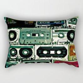 Cassettes & Regrets Rectangular Pillow