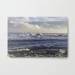 Jokulsarlon Lagoon Metal Print