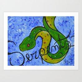 Serpents Art Print