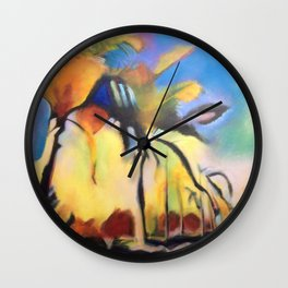 Palm Road Wall Clock