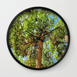 Intricate Vibrations  Wall Clock