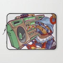 Tezcatlipoca Old School Hip Hop Laptop Sleeve