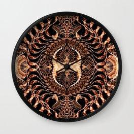 Tribal Mandala Wall Clock