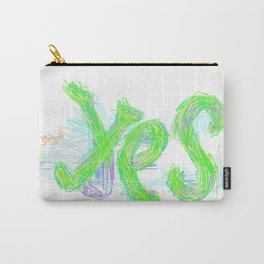 Yes #001 Carry-All Pouch
