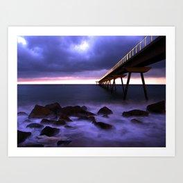 Pont Petroli Art Print