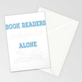 Book Reader Stationery Cards