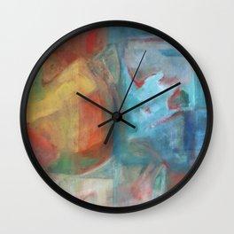 Grapefruit Moon Wall Clock