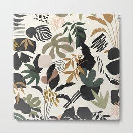 Modern simple jungle 52 Metal Print