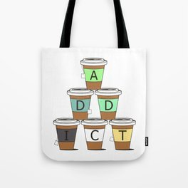 Tea addict Tote Bag