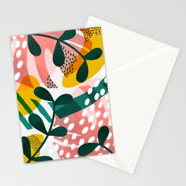 Pink jungle ll Stationery Cards