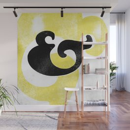 Goudy Stout Ampersand Wall Mural