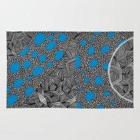 sagan Area & Throw Rugs featuring - cosmos_04 - by Magdalla Del Fresto
