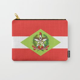 flag of santa catarina Carry-All Pouch