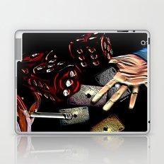 Rollin (black/red) Laptop & iPad Skin