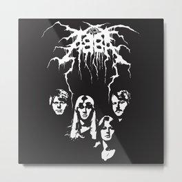 Abba Darkthrone Mash-up Metal Print