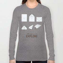 Let's go explore Long Sleeve T-shirt