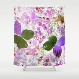 Unidentified inverted fauna Shower Curtain