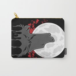 Howl at the Moon (Awoo) Carry-All Pouch