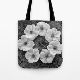 Flower circle Tote Bag