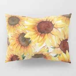 Sunflowers Bloom  Pillow Sham