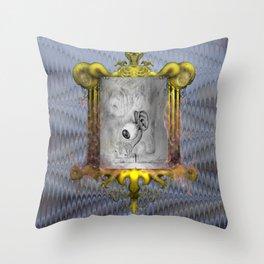 Misperception Throw Pillow