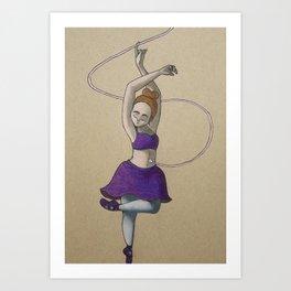 Ashley Art Print
