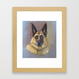 Every Dog Has Its Day Framed Art Print
