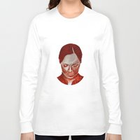 moulin rouge Long Sleeve T-shirts featuring ROUGE by Jeremy Parigi