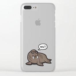 Dorkus Clear iPhone Case