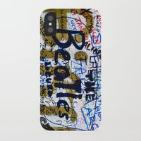 england iPhone & iPod Cases featuring england style by Sogol Khoubi