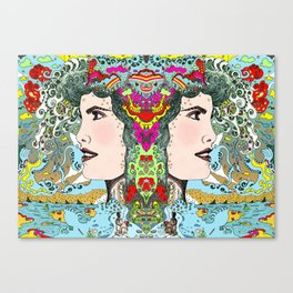 Vision on [Full colour version] Canvas Print