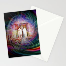 Our world is a magic - Time Tunnel 101 Stationery Cards