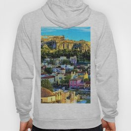 Daytime view of the Acropolis ruins; Athens, Greece Hoody