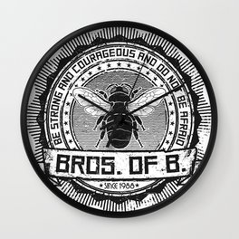 Bros. of B. Light Wall Clock
