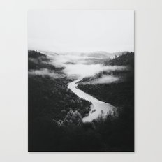 Forks BW Canvas Print
