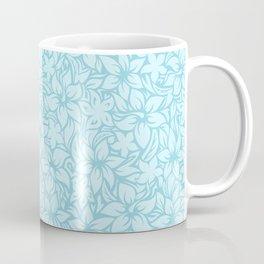 Moloaa Bay Hawaiian Hibiscus Aloha Shirt Print Coffee Mug