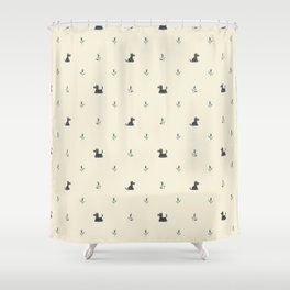 Scottie Dogs Shower Curtain